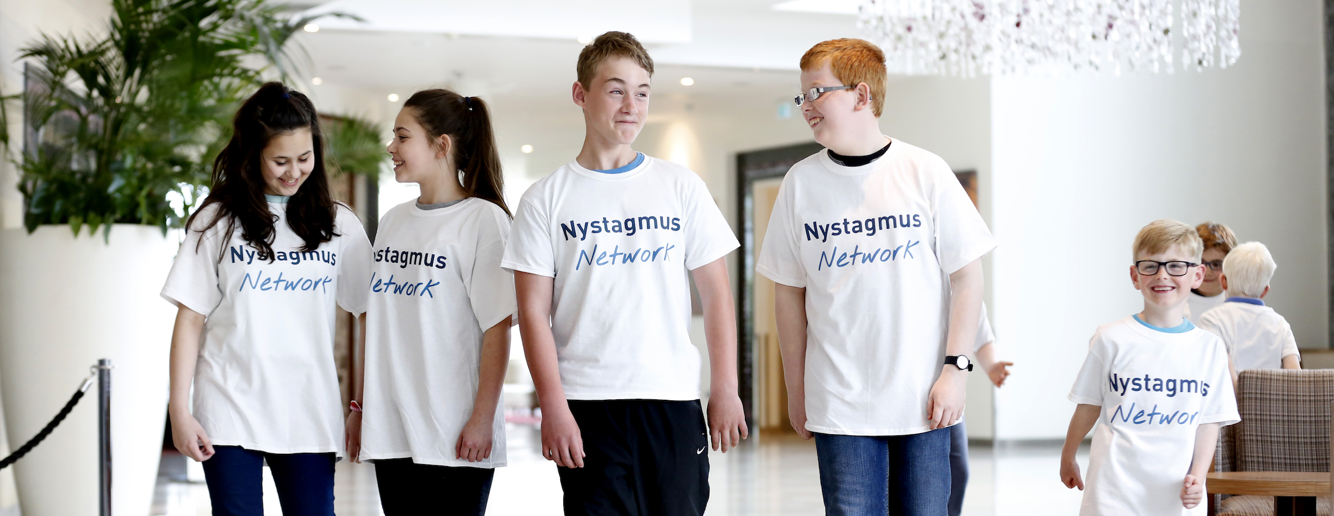 Request the bank details of the Nystagmus Network