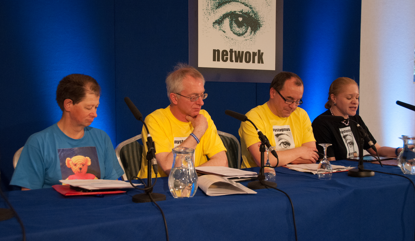 The Nystagmus Network panel