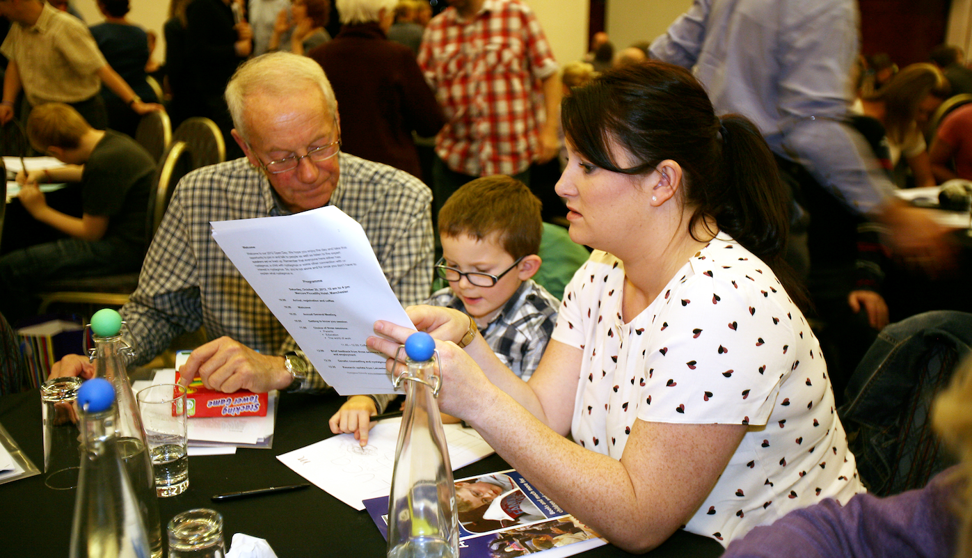 Hold an event for Nystagmus Network