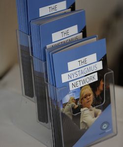 The Nystagmus Network distributes information about nystagmus