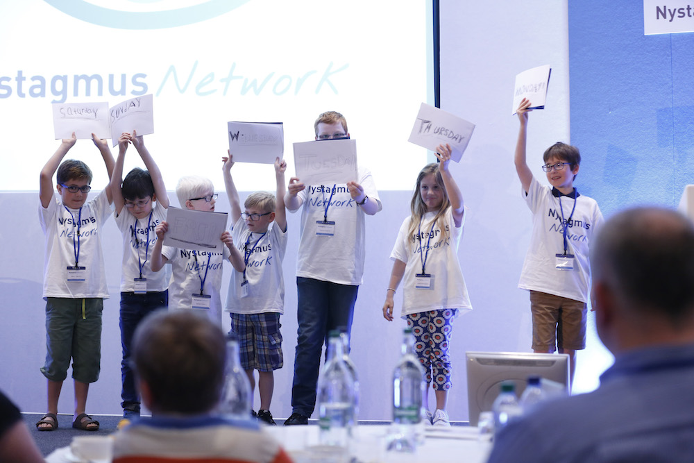 Meet our new Nystagmus Network volunteers!