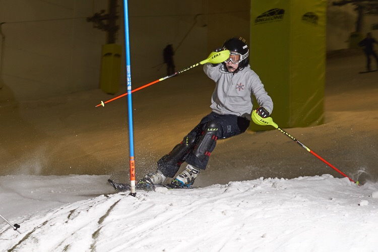 Skiing with nystagmus