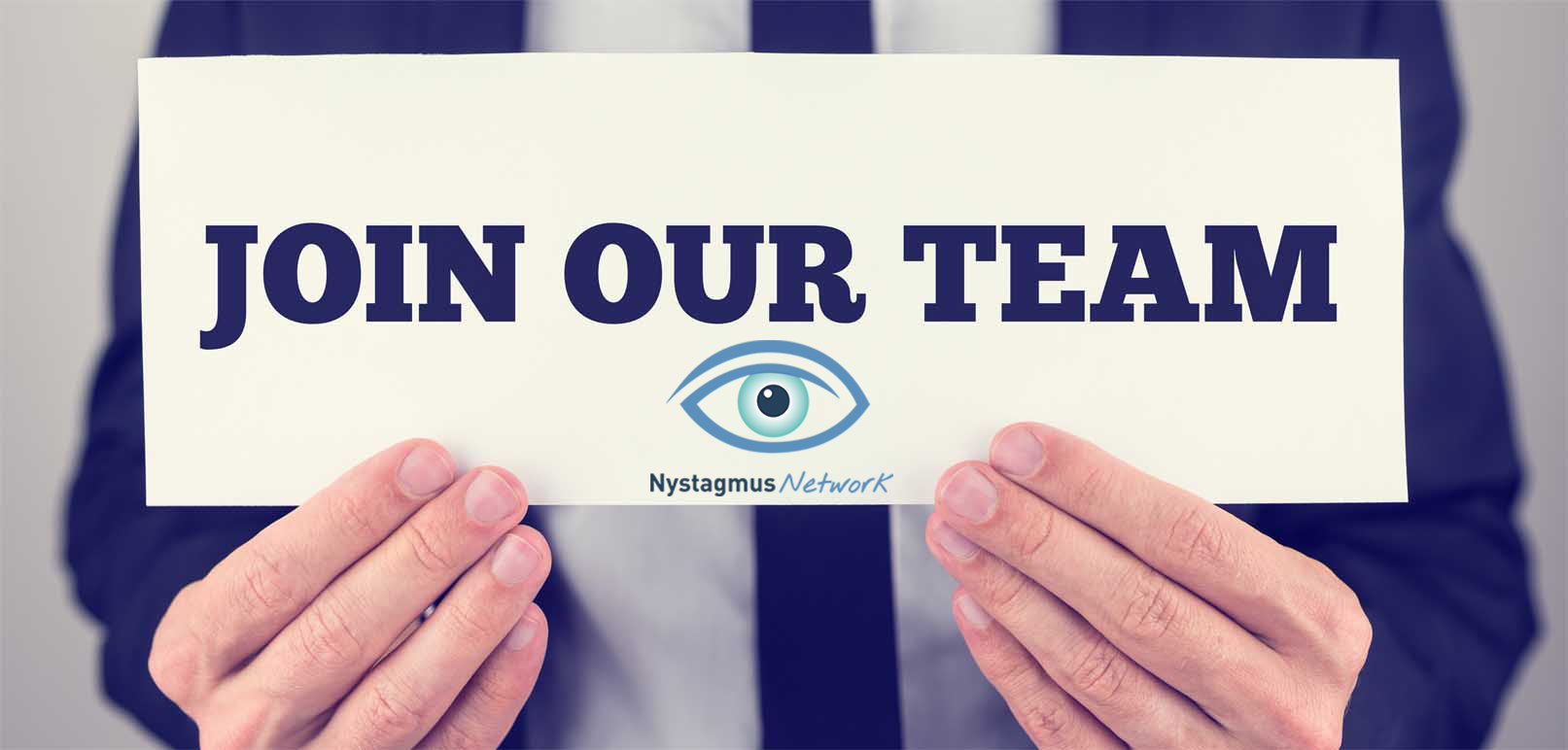 Want to become a trustee at the Nystagmus Network?