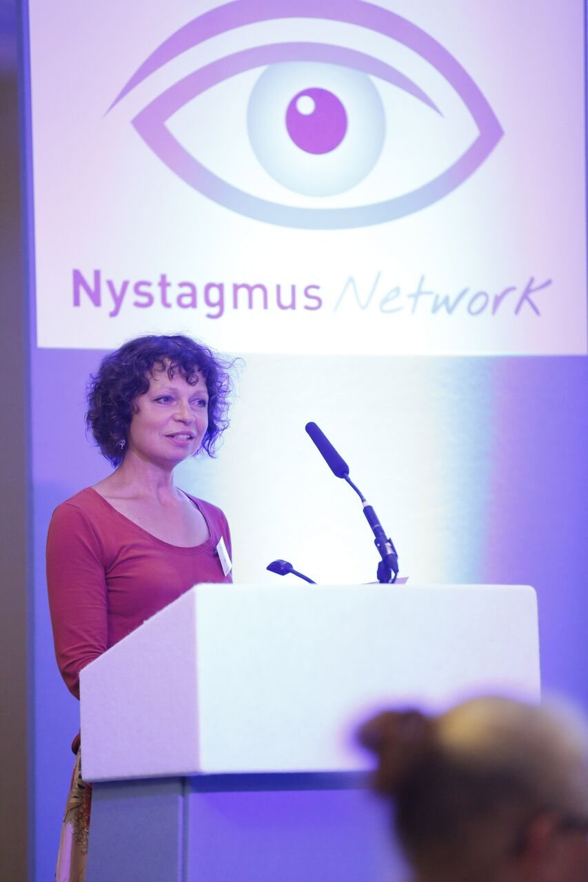 Sue shares her personal nystagmus story