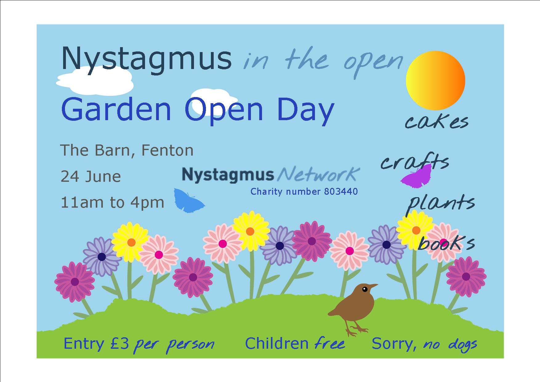 Nystagmus in the garden
