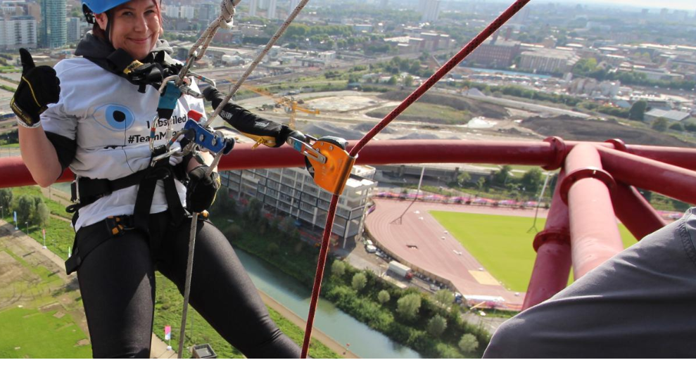 Want to abseil at the Queen Elizabeth Olympic Park?