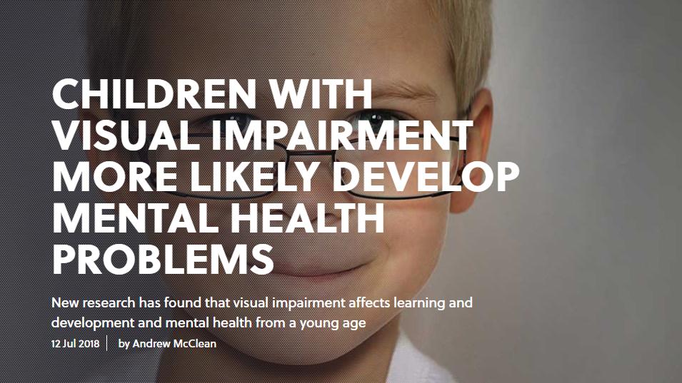 Visual impairment and mental health