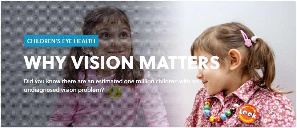 Children's health: why vision matters