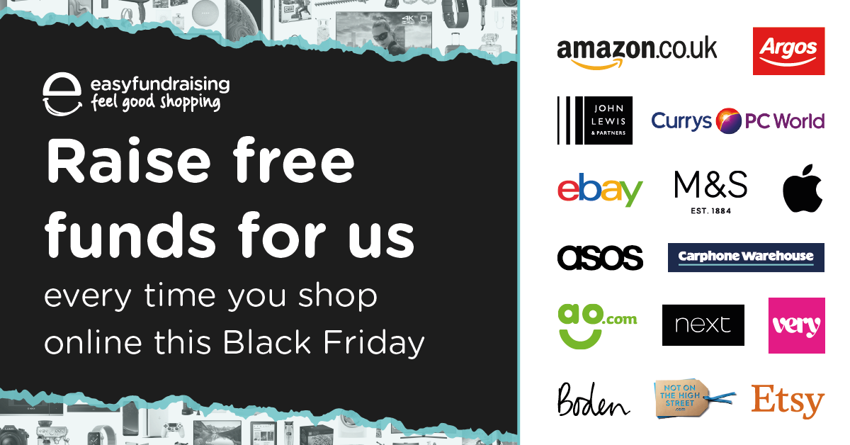 Black Friday deals from Easyfundraising