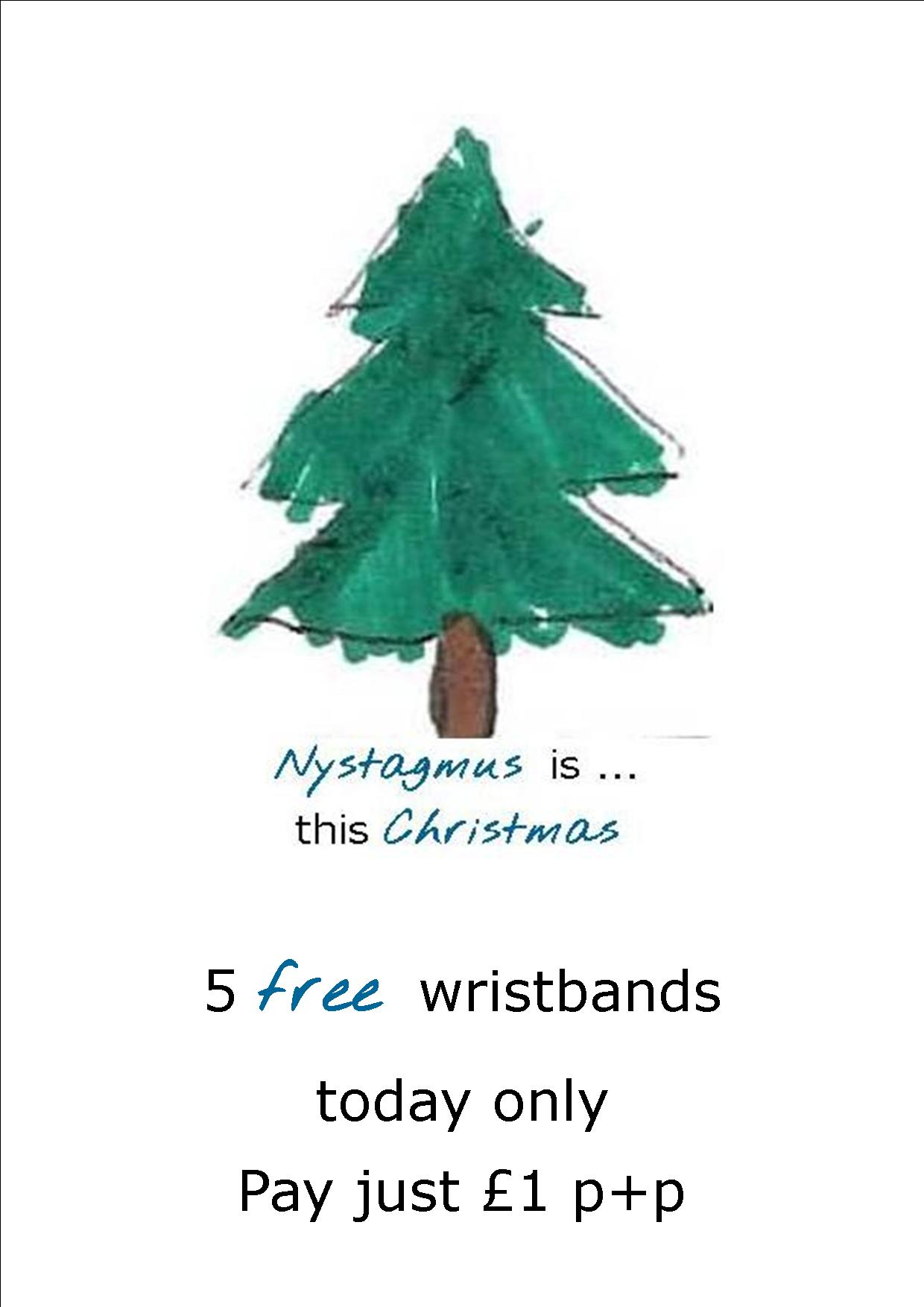Free wristbands – today only!
