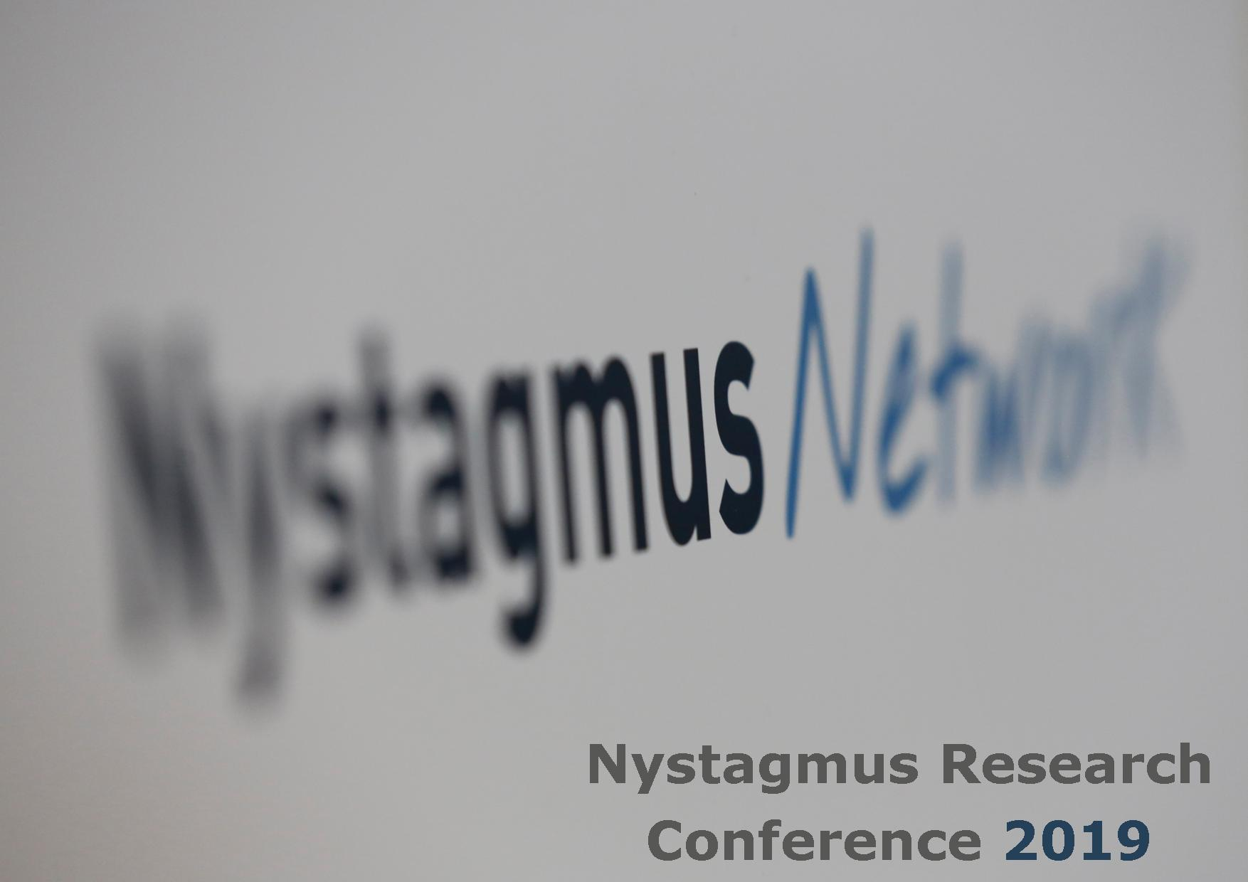 Nystagmus Network research conference 2019.
