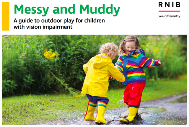 A new RNIB guide to outdoor play