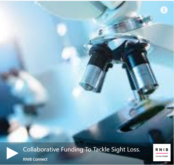 Collaborative funding to tackle sight loss