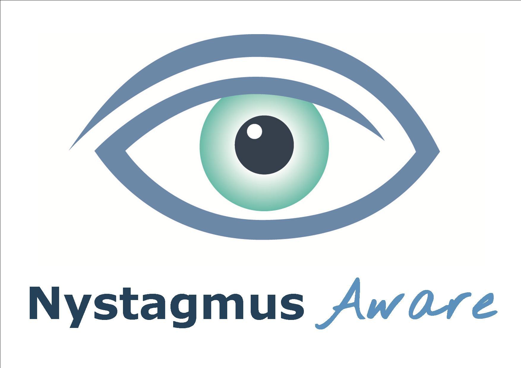 Nystagmus Aware logo.
