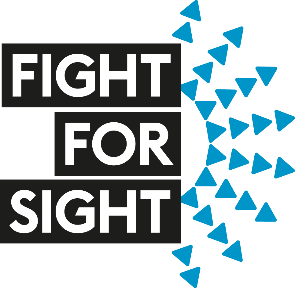 Fight for Sight logo.