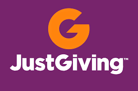 The logo of Justgiving