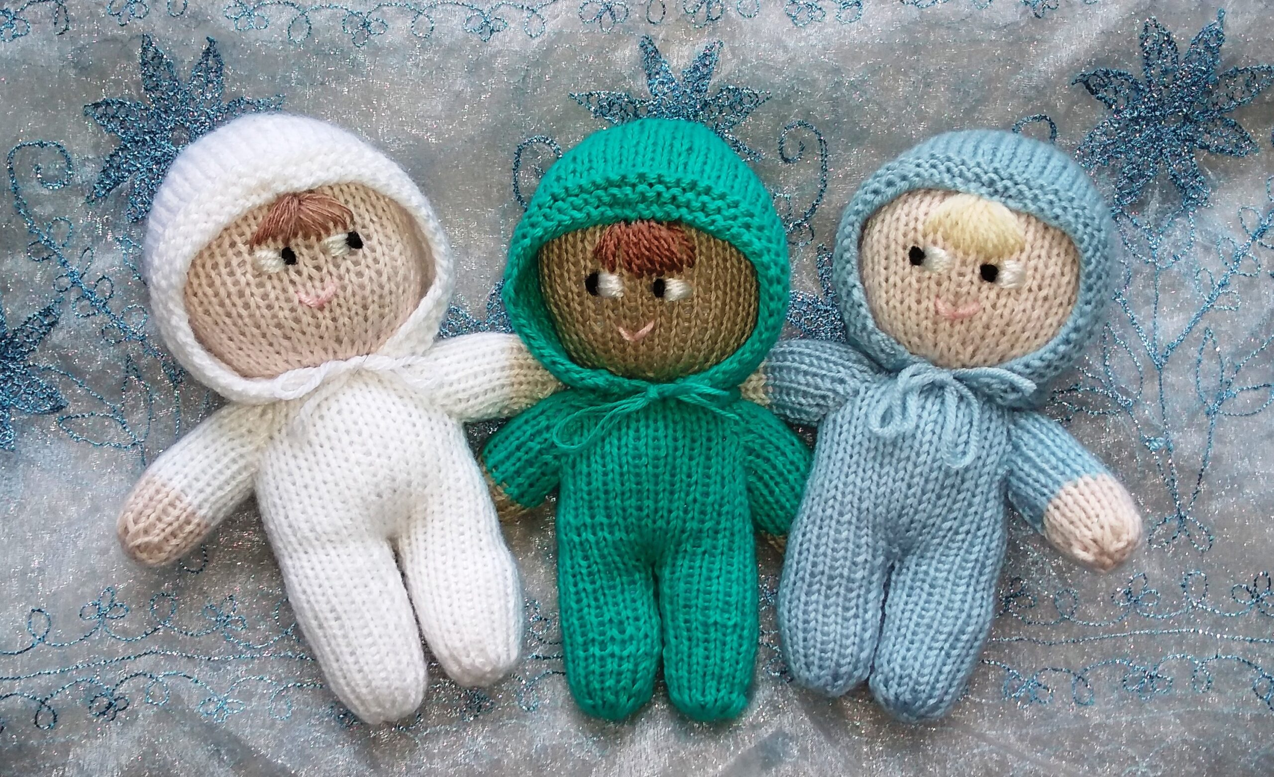 3 woolly nystagmus mascots