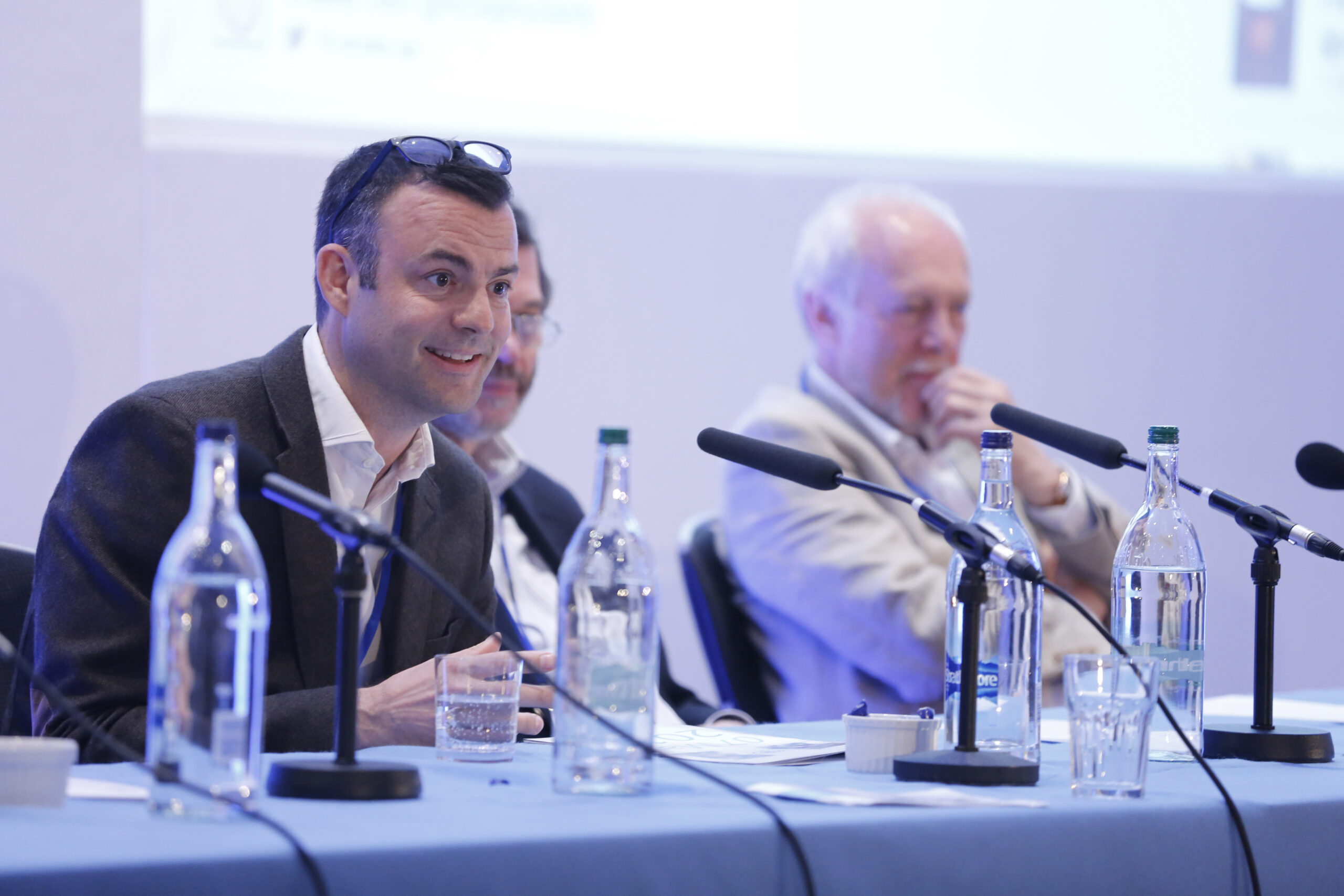 The research panel at Open Day 2015