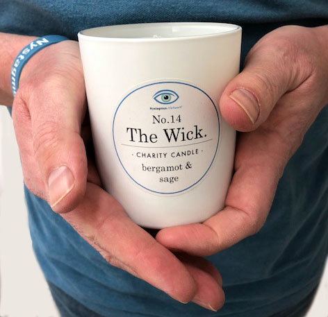 Special edition scented candle raises funds for the Nystagmus Network