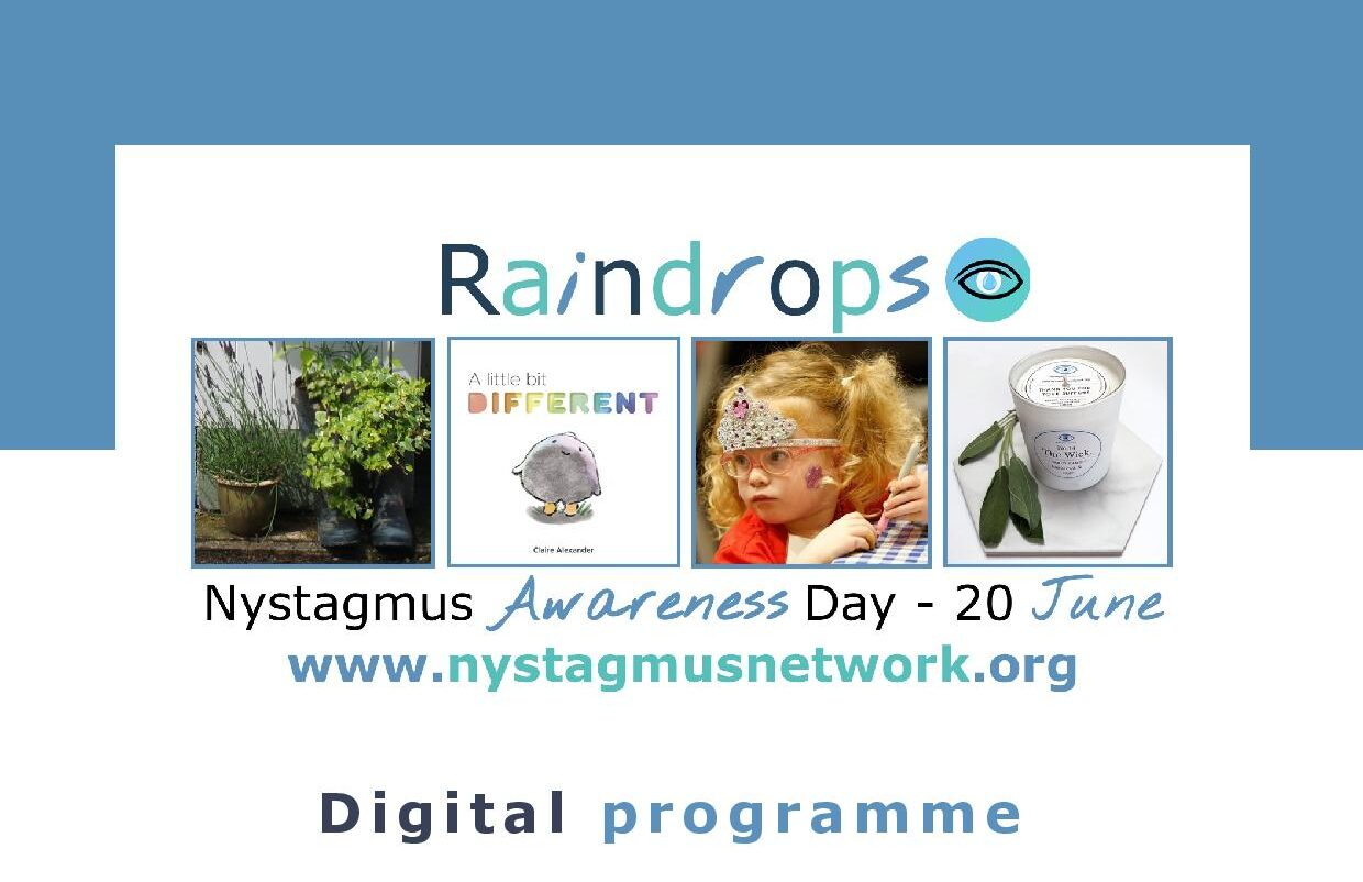 The Nystagmus Network digital events programme for Nystagmus Awareness Day 2021